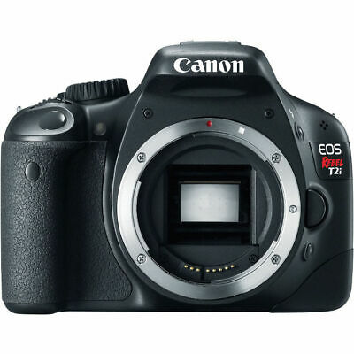 Canon EOS Rebel T2i 18.0MP Digital SLR Camera (Body Only) - 4462B001 - UD  Read