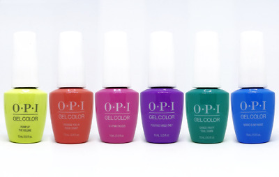 OPI Neon Collection Summer 2019 GelColor Soak-Off Gel Polish Set of 6