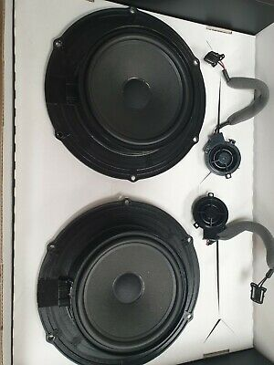Vw Transporter T5 T6 Genuine Factory Front Speakers And Tweeters