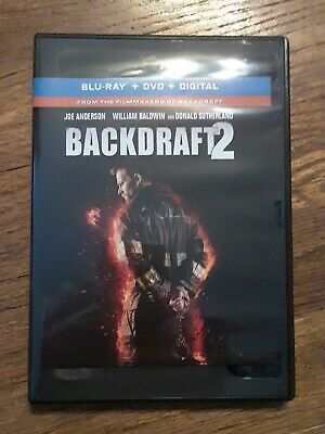 Backdraft 2 (DVD, 2019)Dvd only from blu ray set