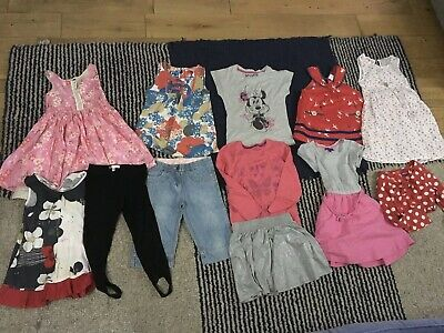 Bundle Of Girl's Summer Clothes NEXT/H&M/M&S/Debenhams - Age 6 Years (12 Items)