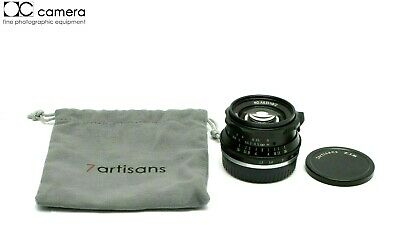 Mint Condition 7artisans 35mm f1.2 Manual Focus Lens for Fujifilm X  #29509