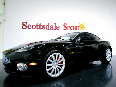 2003 Aston Martin VANQUISH 2+2 * ONLY 4K Miles...Collectable Grade 03 ASTON MARTIN VANQUISH 2+2 * ONLY 4K Mi * 1 OWNER * BLACK * INVESTMENT GRADE