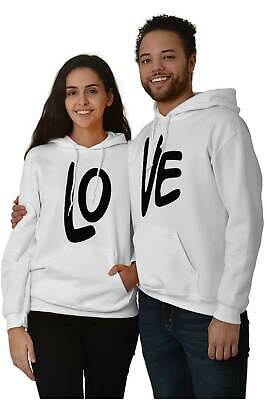 PANDA PRINCESS PRINCE COUPLE MATCHING VALENTINE/'S DAY GIFT LIGHT GRAY HOODIE