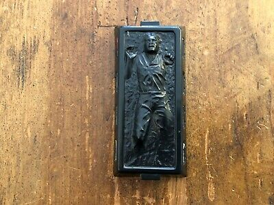 Vintage Star Wars Han Solo in Carbonite Chamber from Fett Slave Ship 1980