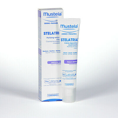 Mustela Stelatria Purifying Recovery Cream 40mL Restores Soothes Balances