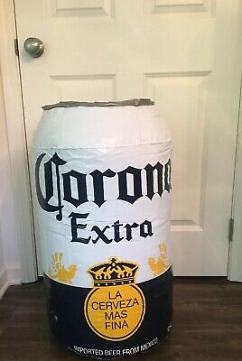 "NEW! CORONA Extra Blow-Up Cerveza Beer Can 30"" Inflatable"