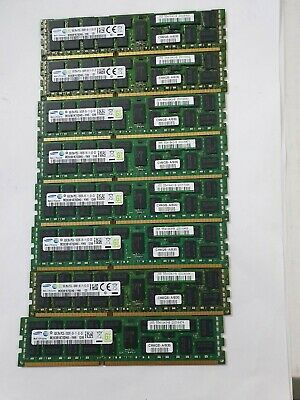 Server Ram 8GB 2RX4 PC3L-10600R (8 pcs of 8 Gb, 64 Gb) Samsung M393B1K70DH0-YH9