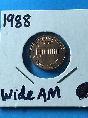1988 Wide AM Lincoln Memorial Cent