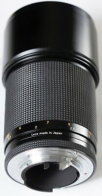 CONTAX CARL ZEISS SONNAR T* 180mm F2.8 LENS 4 C/Y CY MOUNT MMJ MINT Condition