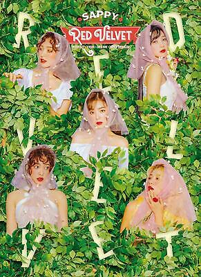 Red Velvet SAPPY First Limited Edition CD+Booklet 36P Card Box Japan