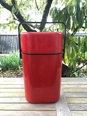2 Bottle BYO Decor Cooler 1980's. Insulated plus chiller insert. Northcote