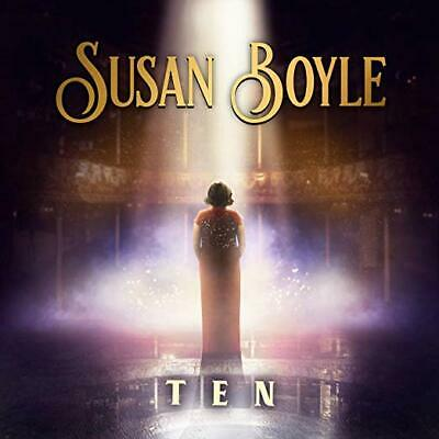 Susan Boyle Cd - Ten (2019) - New Unopened - Sony - Greatest Hits