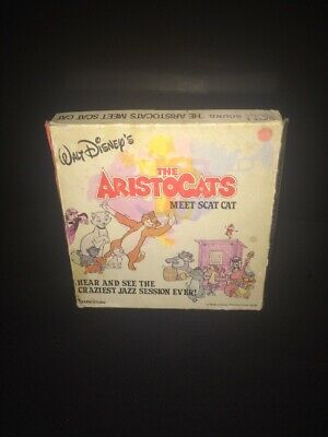 Aristocats Meet Scat Cat Walt Disney Super 8 Mm Colour Sound Film