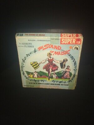 "Sound Of Music Super 8mm Film 8"" Reel"