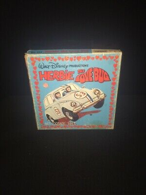 "herbie the love bug Super 8mm Film Walt Disney 5"" Reel"