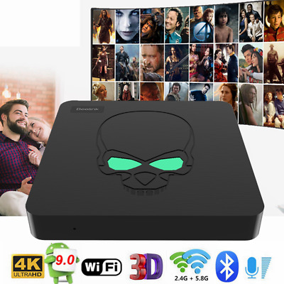 Beelink GT-King TV Box Voice Control 4+64GB Android 9.0 4K WiFi 1000M USB