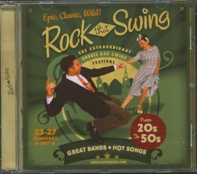 Various - Rock That Swing - Festival Compilation 2017 (CD) - Retro Swing/Croo...