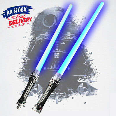 Weapons Lightsaber Double LED Flashing Sabers Light For Star Wars Cos Sword Toys