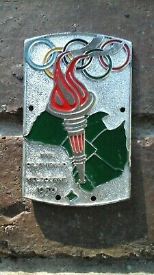 Melbourne Olympic Games 1956 Streamlux Officially Approved Emblem Enamelled.