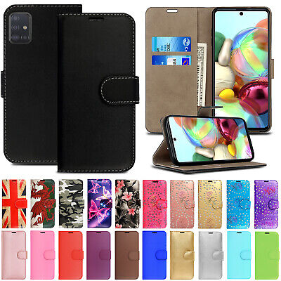 Case For Samsung Galaxy A50 A40 A20e A70 Phone Leather Flip Card Wallet Cover