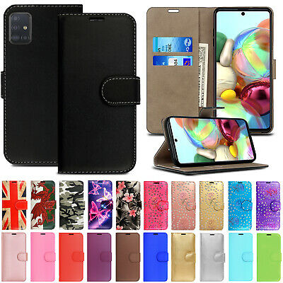 Case For Samsung Galaxy A50 A40 A60 A70 Phone Leather Flip Card Wallet Cover