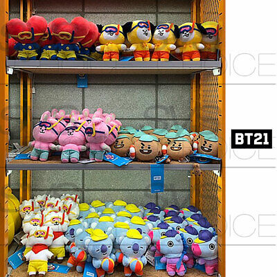 BTS BT21 Official Authentic Goods Von Voyage Summer Doll 15cm 5.9in + Tracking#
