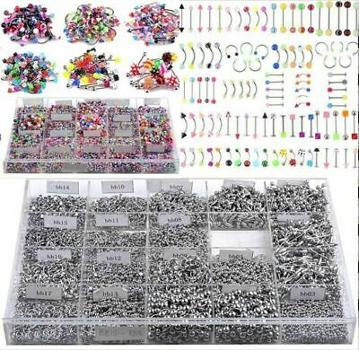 85/105X Belly Button Navel Ring Bar Bars Body Piercing Jewellery Rings Makeup
