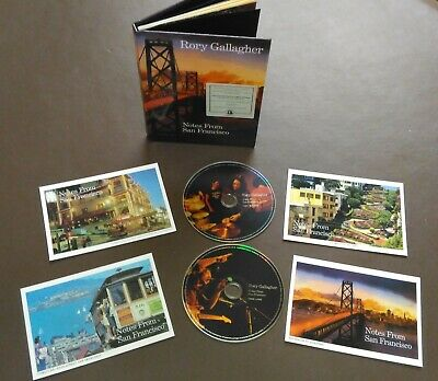 Rory Gallagher - Notes From San Francisco - Limited 2CD Deluxe Legacy Edition