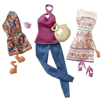 Barbie N4855 Fashionistas Shopping Cafe Collectable Clothing for Dolls