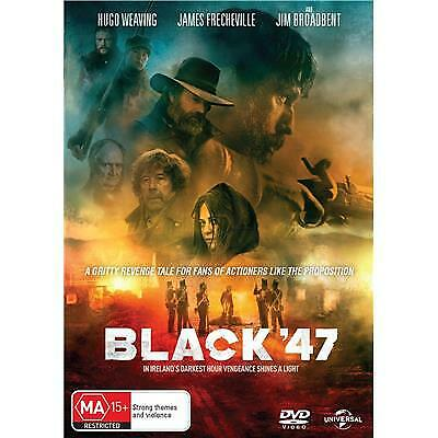 Black '47 Dvd, New & Sealed, 2019 Release, Free Post