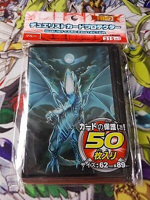 Yu-gi-oh 50 protège carte sleeves Dragon Blanc Aux Yeux Bleu blue eyes