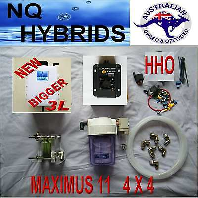 Hho Maximus Diy 11 4 X 4 Hydrogen Generator 11 Plate  Ideal For Mid Sized  4 X 4