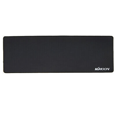 KKmoon 900*300*3mm Large Size Plain Black Extended Mouse Mice Pad Desk Mat F8A2