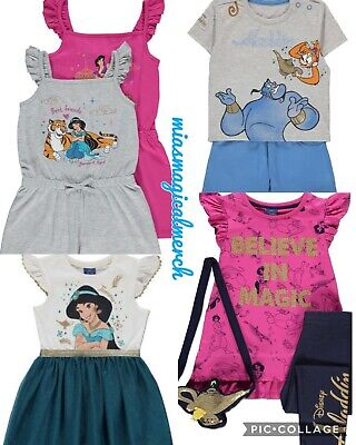 Brand New Baby's Disney Aladdin Genie 2 Piece Short Set