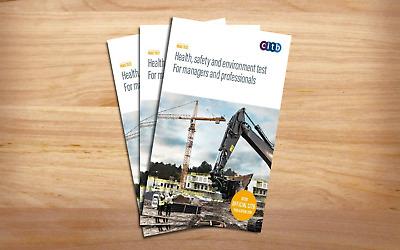 CITB Health, Safety & Environment Test for Manager & Professional 2019 DVD