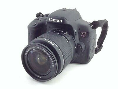 Camara Digital Reflex Canon Eos 750D+Ef-S 18-55Mm 1:3.5-5.6 Is Stm 4725644