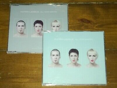 Human League ‎– All I Ever Wanted: 2 x CD singles incl. The Vanity Case Mix