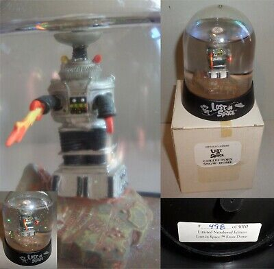 LOST IN SPACE Classic Series B9 ROBOT snow globe based on 1968 AURORA kit L@@K