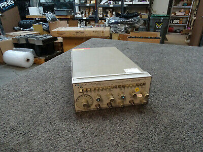 HP Hewlett Packard 3312A Function Generator with CURRENT CALIBRATION