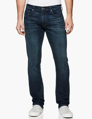 Paige Mens Federal M655697-3666 Jeans Slim Fit Brixton Blue Size 32W