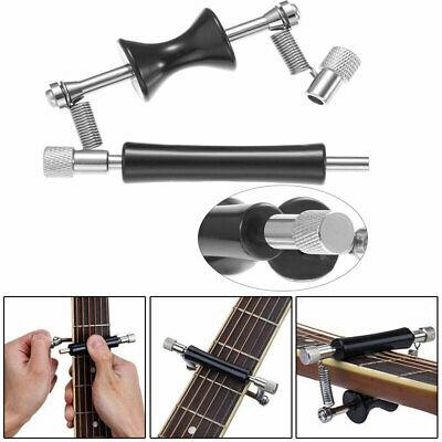 Rolling Guitar Capo Glider Slide Quick Setup For Acoustic 6-String Guita Bass