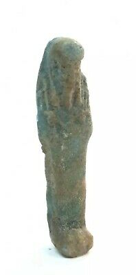 Ancient Egyptian Faience Ushabti Late Period c.600 BC.