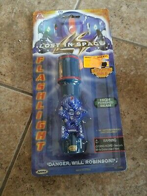 Lost in Space Movie Toy Flashlight Robot sci-fi Danger Will Robinson