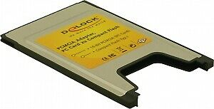 Delock 91051 PCMCIA for Compact Flash cards card reader CompactFlash (CF Typ