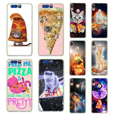 Pizza cat Hard Case For Huawei P30 P20 Pro P10 P9 P8 Lite P Smart