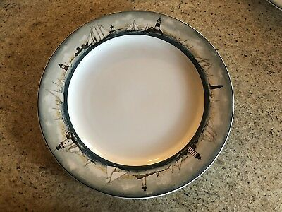 David Carter Brown - By the Sea - Dinnerware - 13 Pieces - Excellent