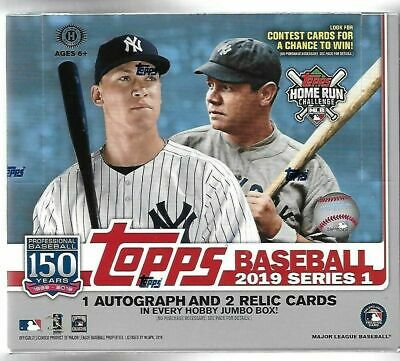 2019 Topps Baseball Series 1 - Complete Your Set #1-175 1/2