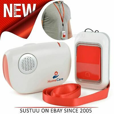 Home Care Portable Distress Alert System¦Battery Operated¦Transmitter & Receiver