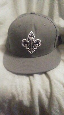 super popular 26e50 f01f8 New Orleans Pelicans New Era 59FIFTY Fitted Hat - Gray NBA
